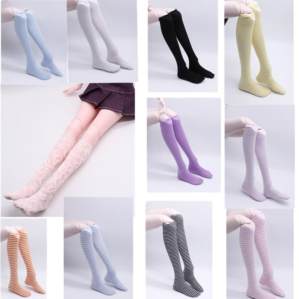 Lace <font><b>Doll</b></font> Socks One Set <font><b>Doll</b></font> <font><b>Sex</b></font> Stocking Multiple Color Handmade Fashion <font><b>Doll</b></font> Accessories For <font><b>1/3</b></font> 60 cm <font><b>Doll</b></font> image