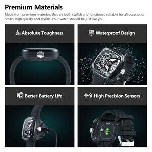 Image 4 - Zeblaze Hybrid 2 Dual Smart Watch Zeblaze HYBRID Smart Watch Heart Rate Blood Pressure Monitor 5ATM Waterproof Sports Smartwatch