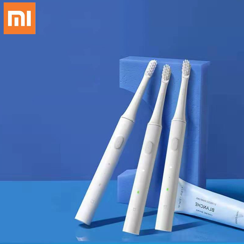 Original Xiaomi Mijia T100 Smart Electric Toothbrush 30 Day Last Machine 46g Two-speed Cleaning Mode Xiomi MI HOME Toothbrush image