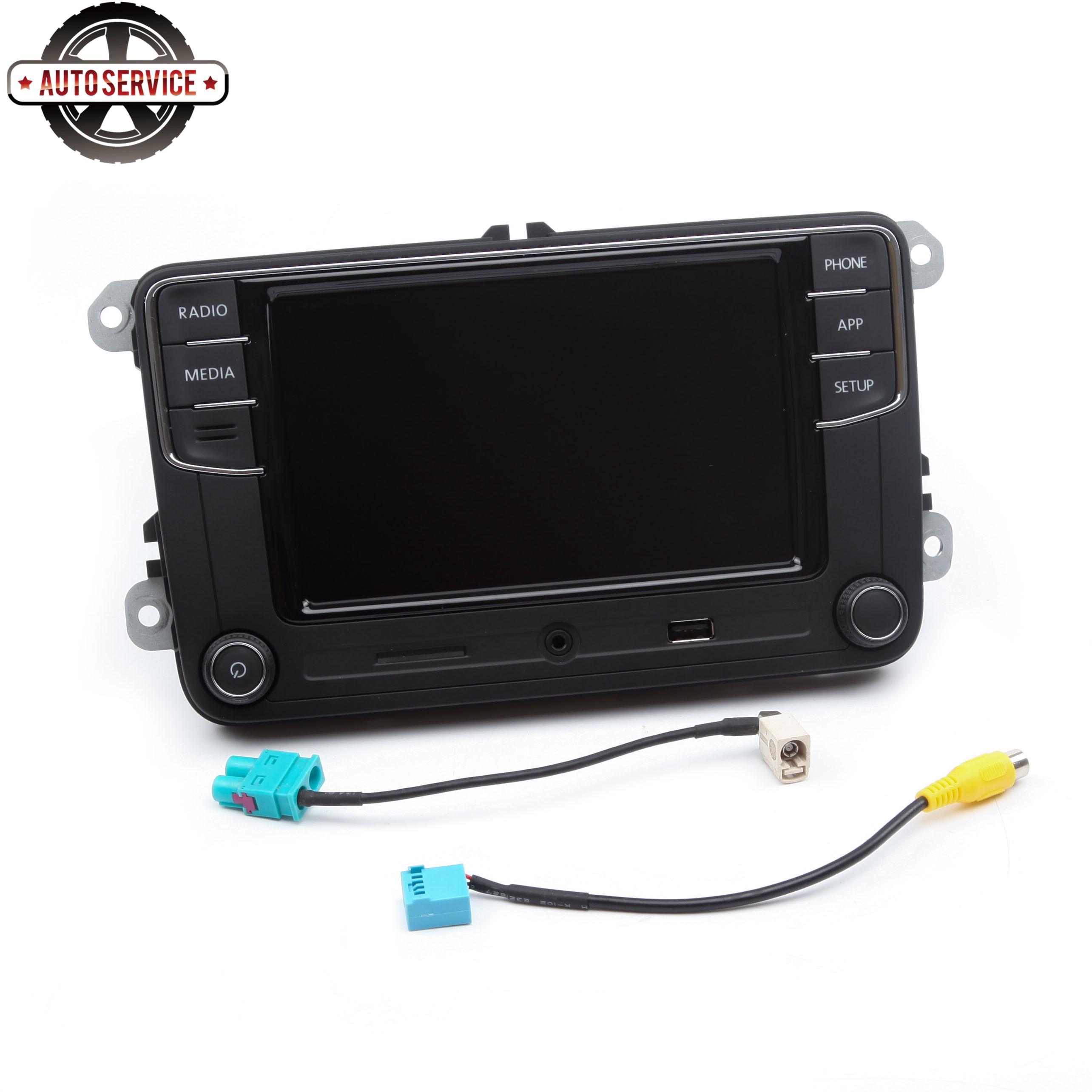 Nuevo RCD330 más RCD330G Carplay MIB 6,5 pulgadas Radio para Jetta MK5 MK6 CC Passat 6RD035187B 1GB de RAM cámara de Vista trasera Bluetooth USB - 4