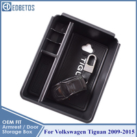 Caixa de armazenamento luva braço para volkswagen vw tiguan 2009 2010 2011 2012 2013 2014 2015 tiguan acessórios mk1 console organizador