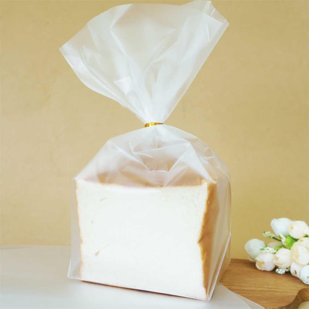 100 sztuk przezroczysty celofan Party cukierki słodycze wyświetlacz torba DIY ciasteczka Wrap plastikowy worek opp dla Lollipops ciasta torba na prezent na przyjęcie