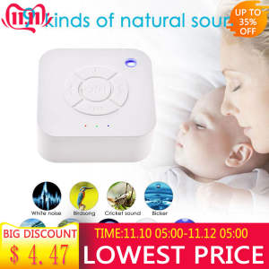 Noise-Machine Shutdown Timed Office White Travel Baby Rechargeable Sleeping--Relaxation