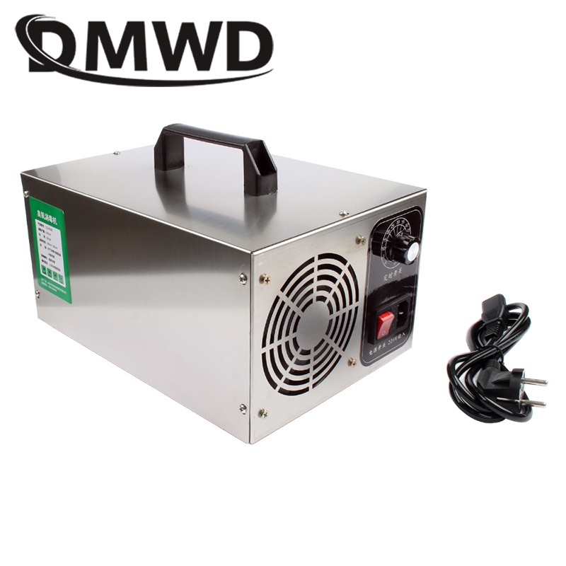 DMWD 30g 220V Air Purifier Ozone Generator 30000mg/h Ozonator  Home Ozone Disinfection Sterilizer Portable With Timing Switch EU|Air Purifiers| |  - title=