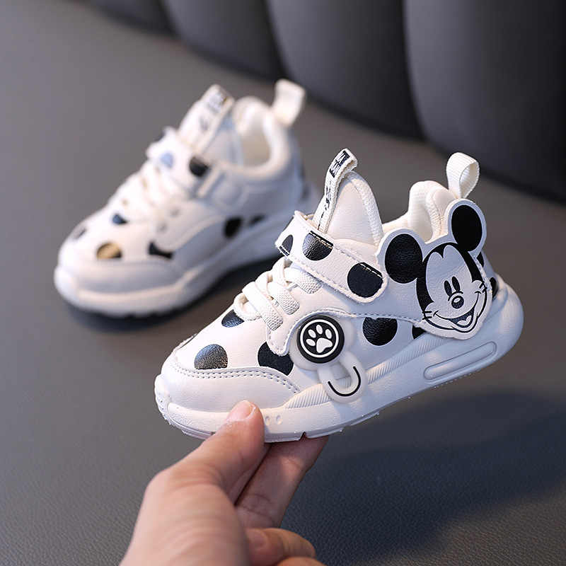 Mickey mouse baby cartoon casual shoes