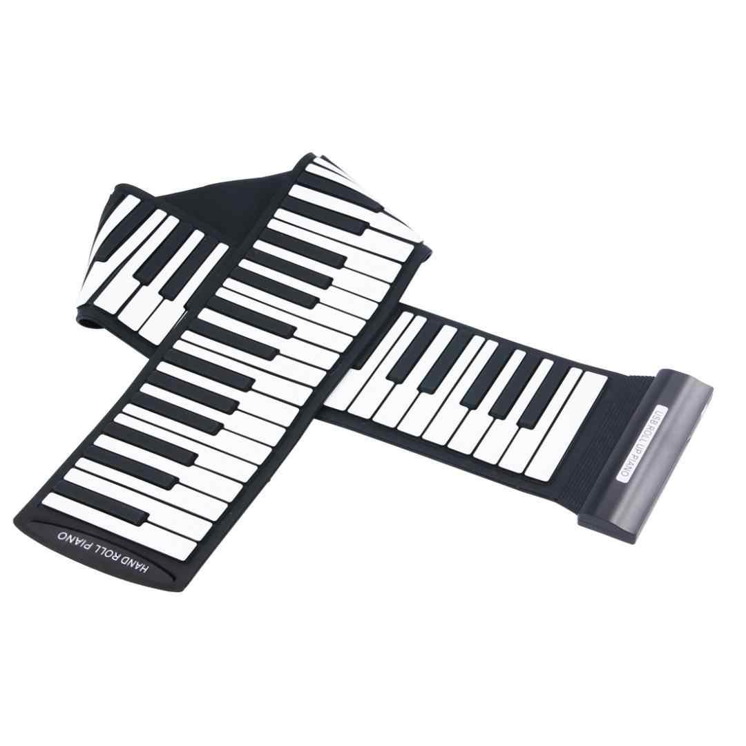 전자 오르간 MD88S 유연한 88 키 전문 미디 키보드 전자 롤 피아노 어린이위한