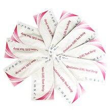 Bandelettes de Test d'ovulation, 25 pièces, kit pour premier résultat, précision supérieure à 99%