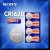 4 batterie pz/lotto delle cellule del bottone di Sony cr1620 per il calcolatore telecomandato del CR 1620 BR1620 della batteria al litio dell'orologio 3V