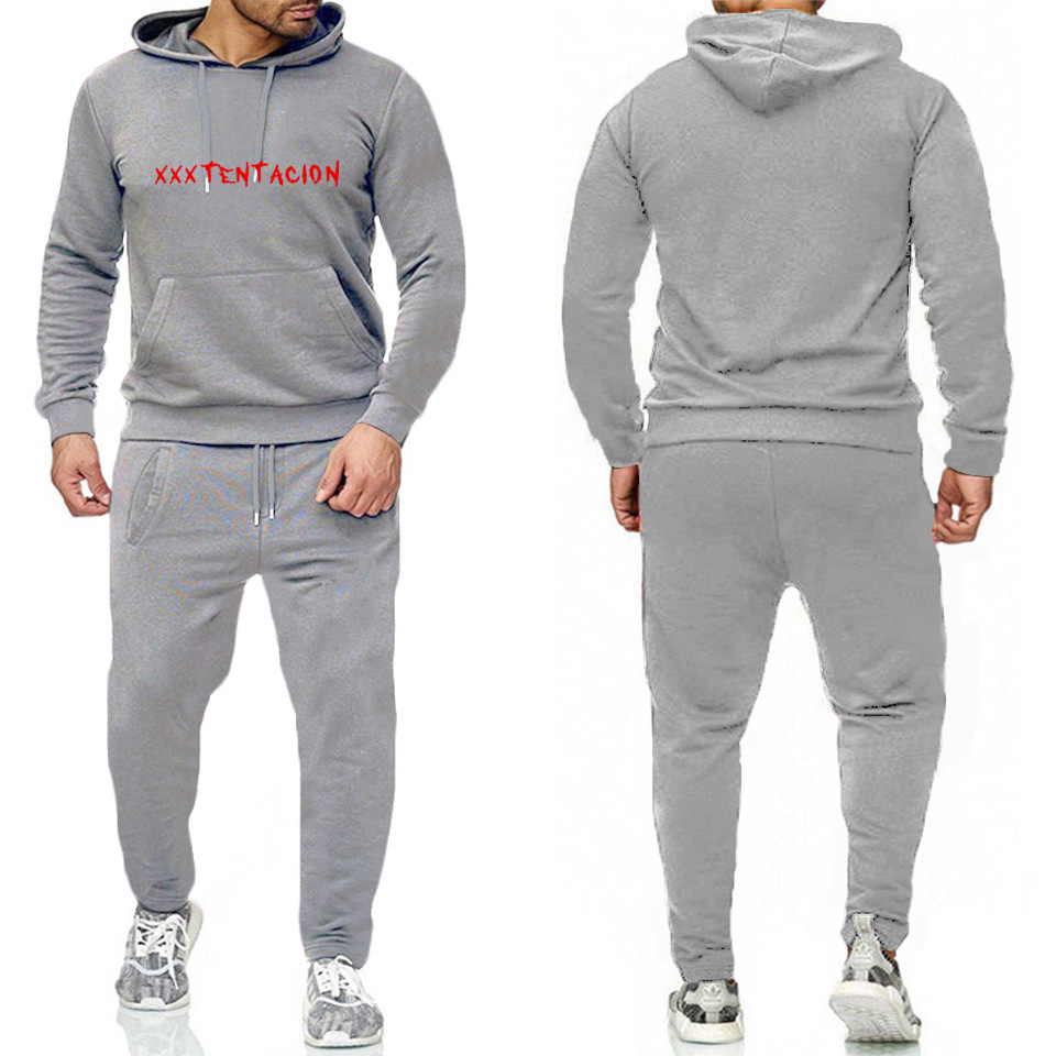 A New Sports Brand For Autumn/winter 2019 Hoodie Suit For Men And Women, Fitness, Leisure, Loose And Loose Size