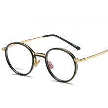 Tr90 прозрачная оправа для очков женщин и мужчин винтажные круглые