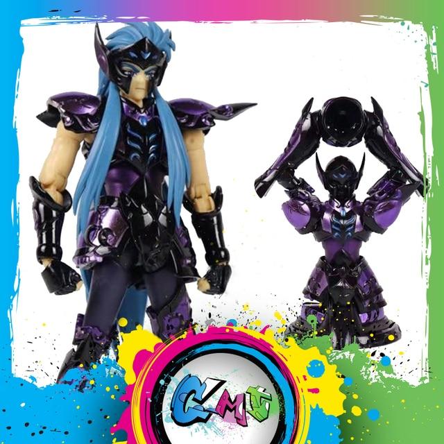 CMT figura de acción de Saint Seiya, modelo CS EX, Camus, Aquarius, Surplice y Armor, Totem Skele, Armor Metel Myth, Juguetes