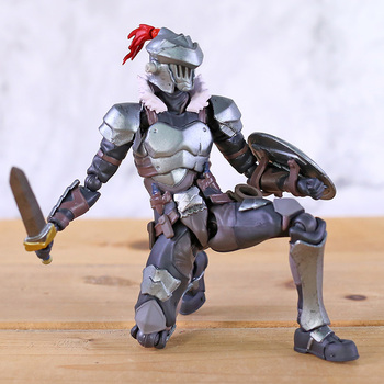 Figma 424 Goblin Slayer Joint Movable PVC Action Figure Anime Brinquedo Model Toy 2