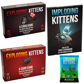 Hot Adult Board Games NSFW Edition Kitten Original Edition Family Party Strategy Explode Fun Cards Game Child Toy