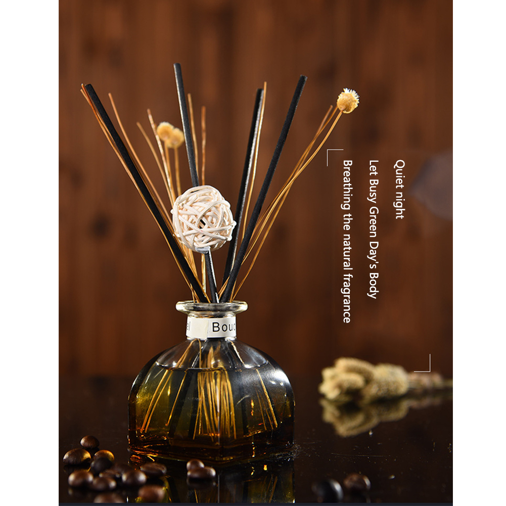 Decoration Purifying Air Essential Oil Home Fragrance Living Room Rattan Sticks No Fire Office Car Portable Aroma Diffuser Set