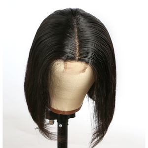 Image 2 - Short Bob Wig 2x6 Lace Closure Wig Human Hair Wigs For Women Remy Brazilian With Natural Pre Plucked Hairline Lace Front Wig