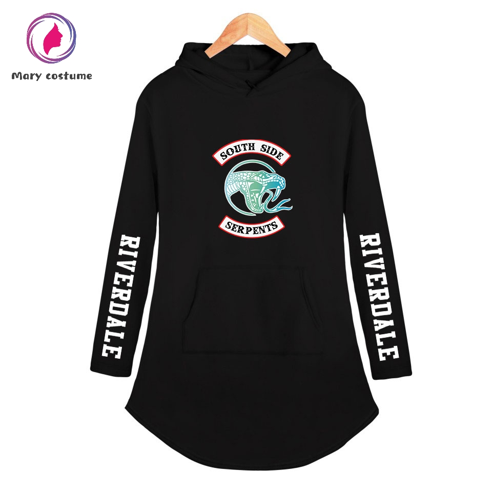 Riverdale Hoodie New Printing Hot Hoodies Sweatshirt Women Fashion Long-sleeved Hoodie 2019 New Harajuku Sweatshirt