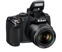Используется цифровая камера Nikon COOLPIX P500 12,1 CMOS с широкоугольным оптическим зумом 36x NIKKOR и видео Full HD 1080p (черный)