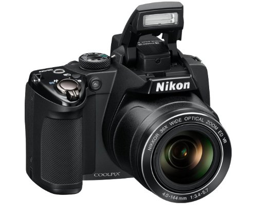 USED Nikon COOLPIX P500 12 1 CMOS Digital Camera with 36x NIKKOR Wide Angle Optical Zoom Innrech Market.com