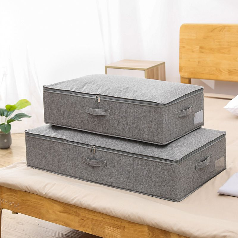 Cloth Shoes Organizer Box With Lids