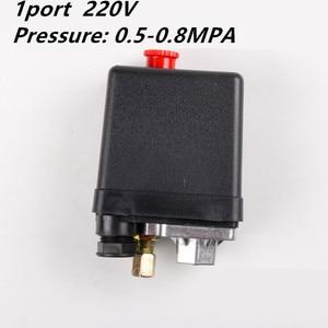 1 Phase 220-240V 5-8kgs 15A 175PSI 12Bar Air Compressor Pressure Switch Control Valve 3Phase 380V 20A(China)