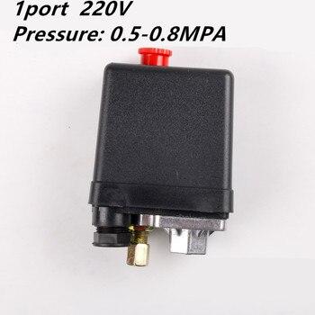 цена на 1 Phase  220-240V 5-8kgs 15A 175PSI 12Bar  Air Compressor Pressure Switch Control Valve 3Phase 380V 20A