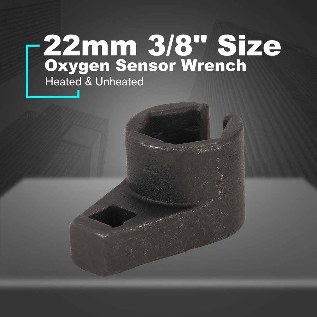 "22mm 3/8 ""เซนเซอร์ออกซิเจน Offset Removal เครื่องมือซ่อมรถสวิตช์สูญญากาศ Flare NUT ไดรฟ์ด้าย Chasers ติดตั้ง"