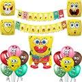 1 комплект с мультипликационным принтом в виде улыбок уход за кожей лица воздушных шаров из латекса с большими глазами желтый воздушные шар...