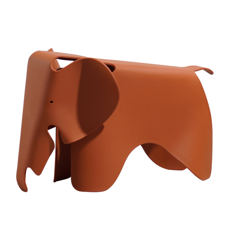 Creative Children Elephant Stool Photo Studio Fashion Model Kindergarten Environmental Protection Plastic color Animal