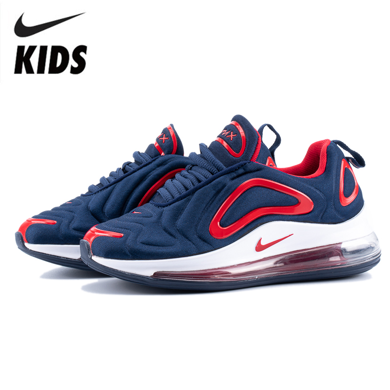 Nike Air Max 720 Kids Shoes Original New Arrival Children Running Shoes Comfortable Sports Air Cushion Sneakers #AO2924-461