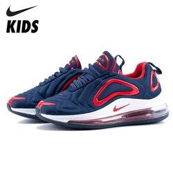 Nike Air Max 720 zapatos para niños recién llegados originales zapatos para correr para niños cómodos deportes Air Cushion Sneakers # AO2924-461
