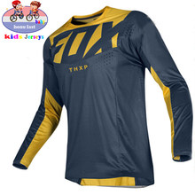 2021 thxp FOX children's cross-country motorcycle jersey, DH MX bicycle riding, FOX
