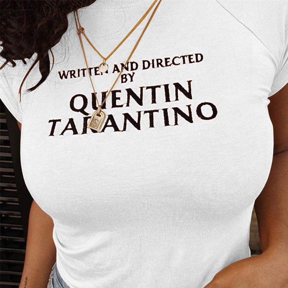 sexy-crop-tops-women-side-stripe-short-sleeve-2018-fashion-quentin-font-b-tarantino-b-font-cotton-yellow-goth-art-slogan-90s-tees-tshirt-lady