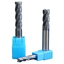 1PCS Endmill Milling Tools 2 Flute HRC50 4 Flute Tungsten Steel Milling Cutter End Mill Metal Cutter 6mm 8mm 10mm 12mm 14mm 16mm