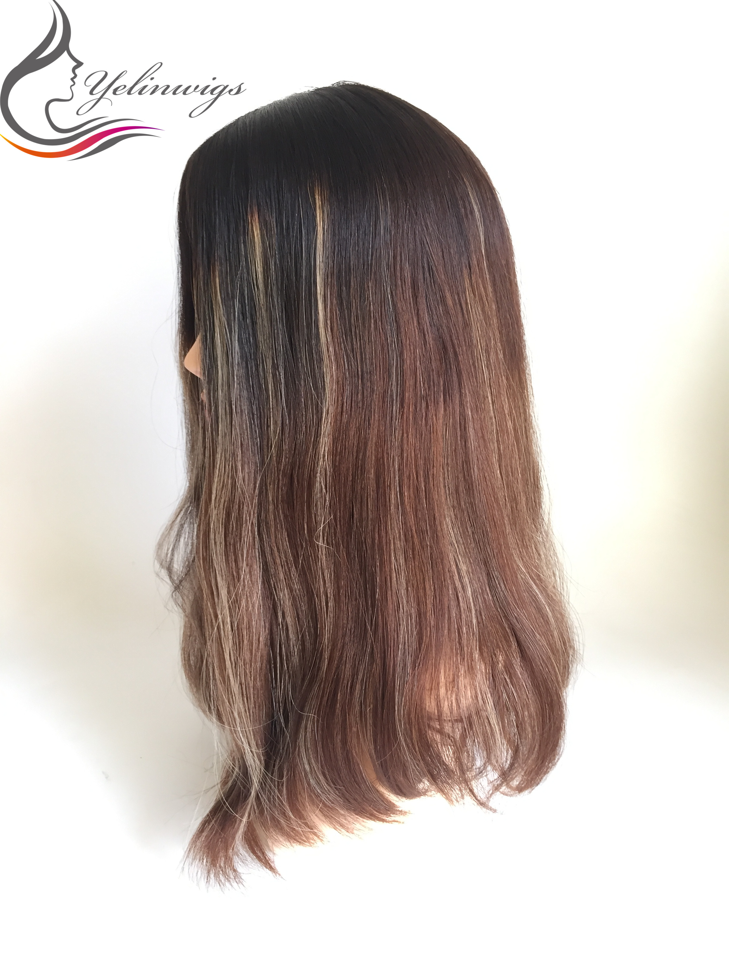 Bob Style Euroepan Hair Virgin Hair Jewish Cap Wig Kosher Wigs Silk Top With Machine Made Weft At Back
