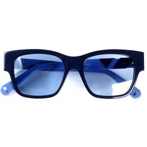 Image 1 - Frauen marke designer acetat sonnenbrille blau linsen 100% UV 400 schutz