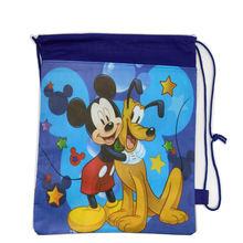 Cartoon Pattern Drawstring Bag Football Design Storage Backpack Children School Bag Toys Received,Beach Bag