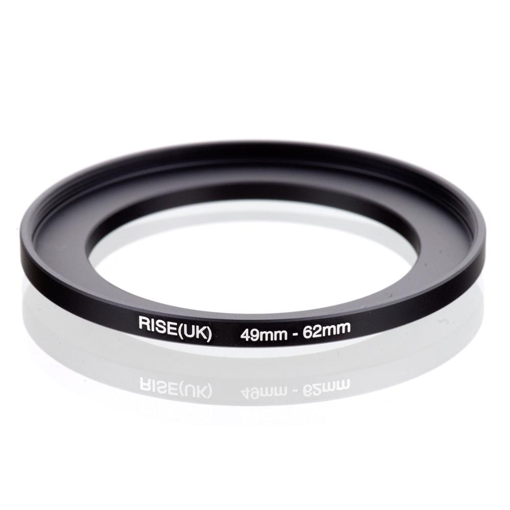 RISE(UK) 49mm-62mm 49-62 Mm 49 To 62 Step Up Filter Ring Adapter