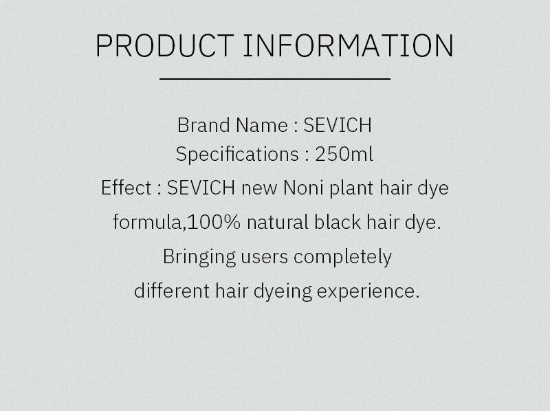 de cabelo shampoo preto tintura rápida branco