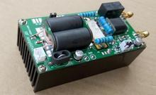 Montado com dissipador de calor minipa100, 1.8 54mhz 100w ssb linear hf amplificador de potência para yaesu ft 817 kx3 ft 818 cw am fm