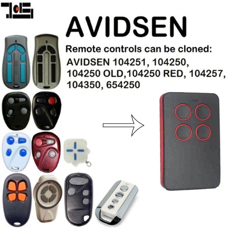 For AVIDSEN 104251, 104250, 104257, 104350, 654250 Duplicator Remote Control