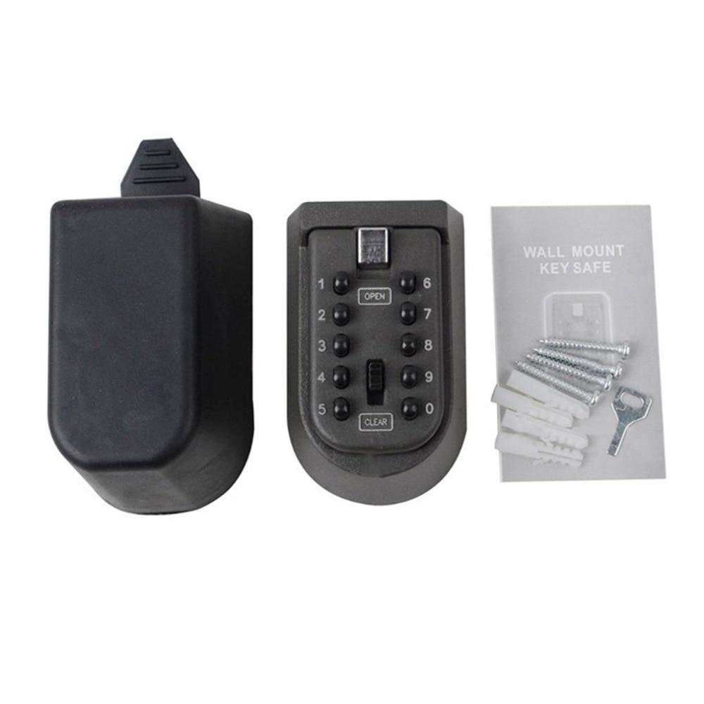 Outdoor WaterProof Wall Mount Key Box Safety Anti-theft Code Lock Box Lock Holder Mini Password Spare Key Lock Box Hot Sales
