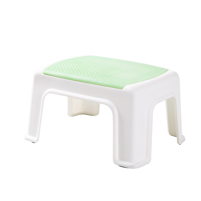 Childrens Plastic Stool Home Simple Thick Small Bench   Ok