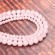 Wholesale Fashion Jewelry Frosted Powder 4/6/8/10 / 12mm Suitable For Making Jewelry DIY Bracelet Necklace