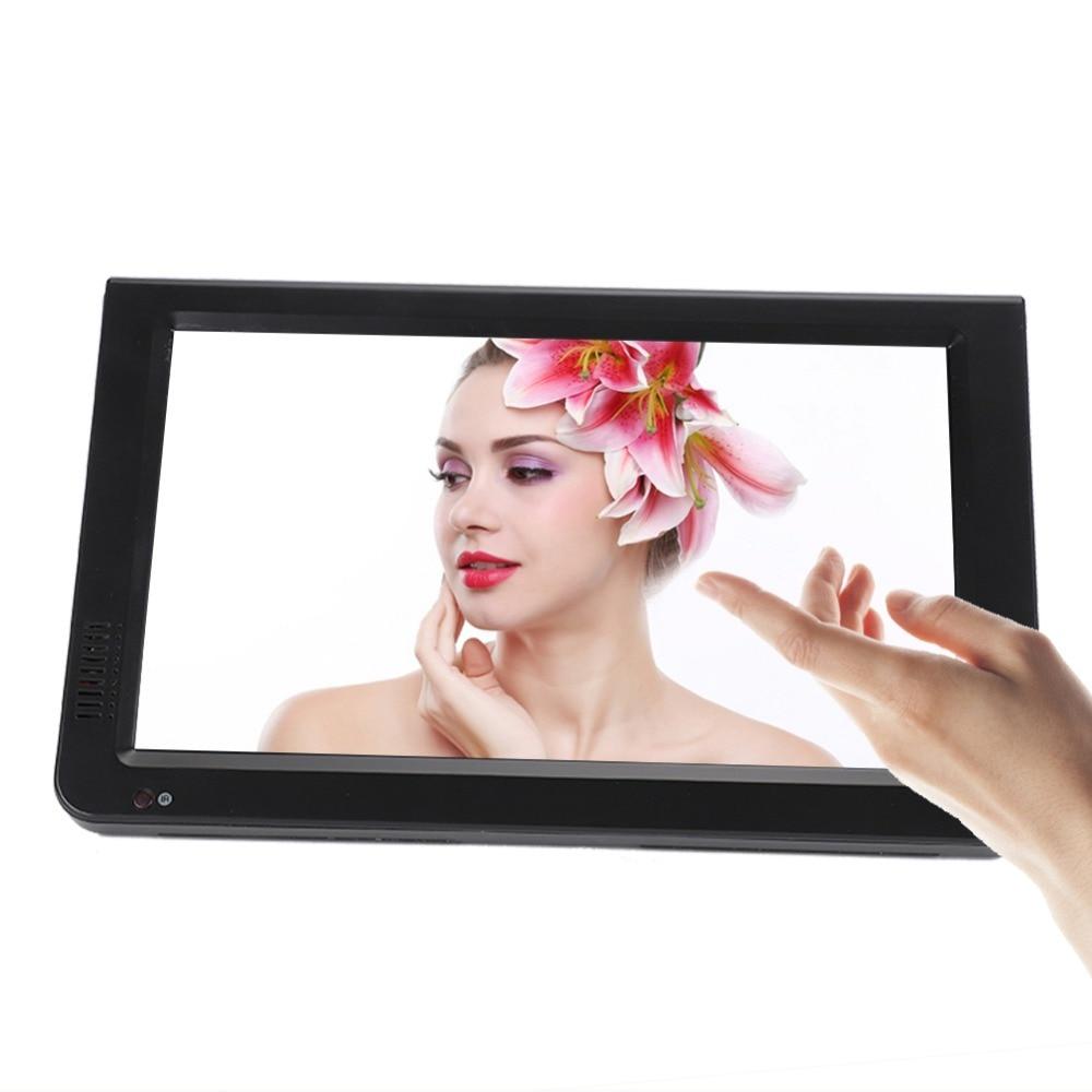 10 inch DVB-T-T2 16:9 Portable TFT-LED HD Digital Analog Color TV Television Player 19