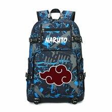 Рюкзак Наруто с аниме принтом школьная сумка для мальчиков и