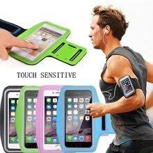 Suporte de braçadeira do telefone móvel universal esporte ao ar livre correndo caso ginásio braço banda bolsa saco para iphone xiaomi sumsung huawei