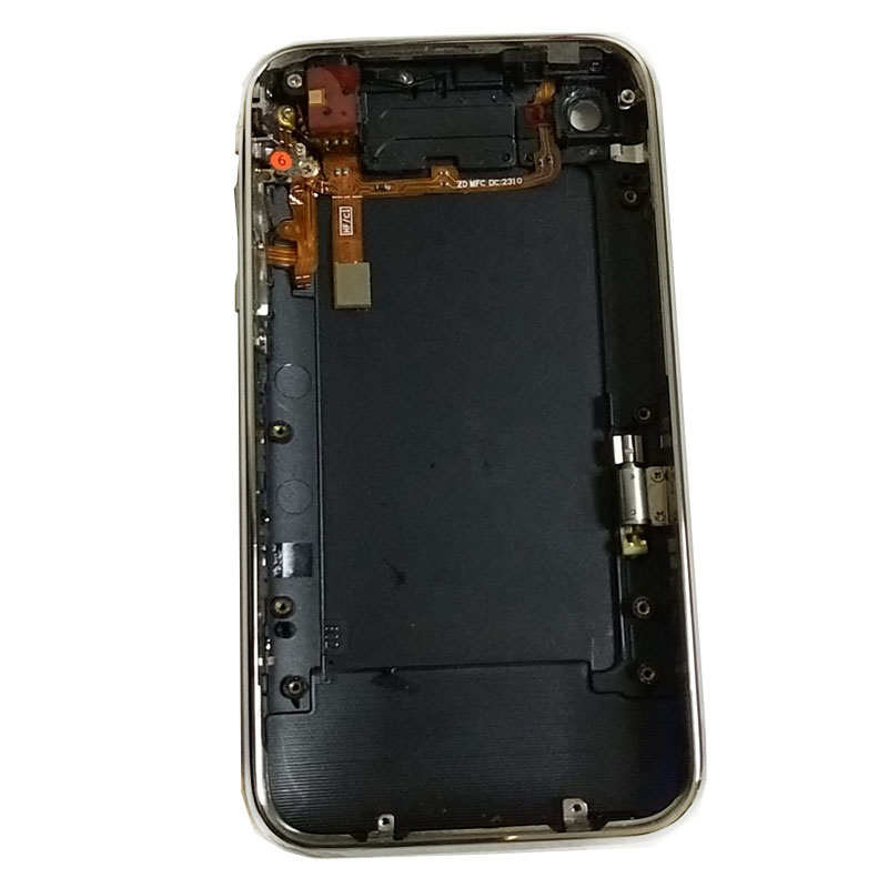 For IPhone 3GS 32gb Housing With Frame Flex Cable 32GB Battery Door Housing Back Cover Case Mobile Phone