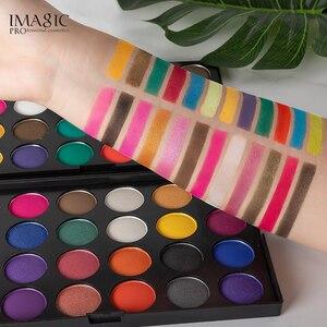Image 3 - IMAGIC Nieuw palet 48 цветов тонизирующий матовый пигмент для макияжа