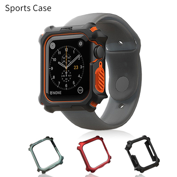 цена на Plastic Protective Case Protective Shell for Apple Watch 38MM 42MM Series 1 2 3 for iwatch 4 5 40MM 44MM Cover Bumper