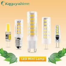 Kaguyahime LED G9 G4 E14 220V Lamp Bulb Dimmable 3w 5w 9w 12V LED G4 Bulb Replace Halogen G9 LED Light For Spotlight Chandelier